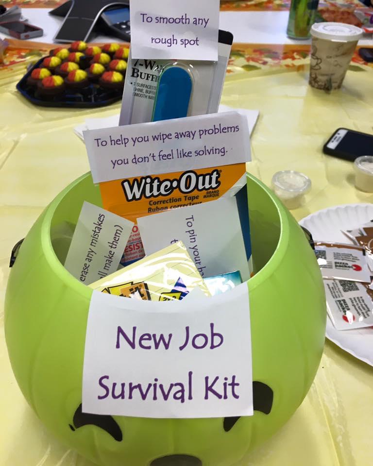 Job New Survival Kit Wipes